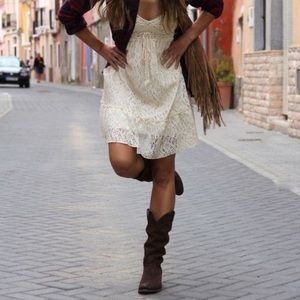 Shoes - Slouchy cowgirl boots